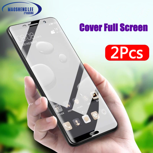 2Pcs/lot Full Tempered Glass For Huawei Mate 10 Screen Protector Mate 10...