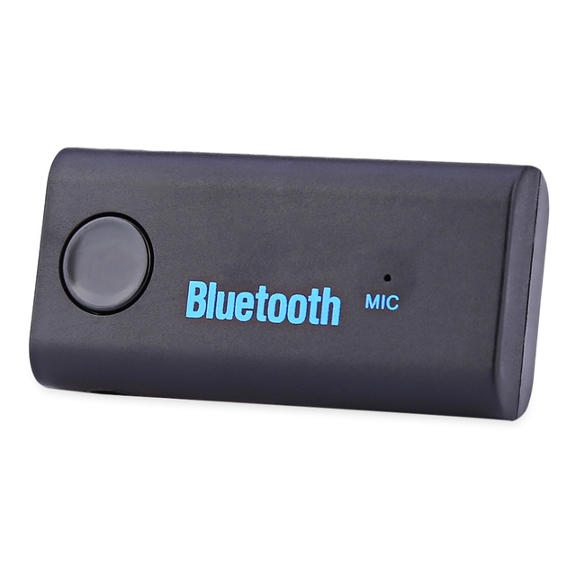 Mini Car Bluetooth Audio Receiver Hands Free Charger Sleep Mode Wireless Connection...