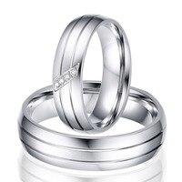 Soul Men Hot Sale In Spain UK Classic Style Titanium Steel Couples Wedding Rings For Men