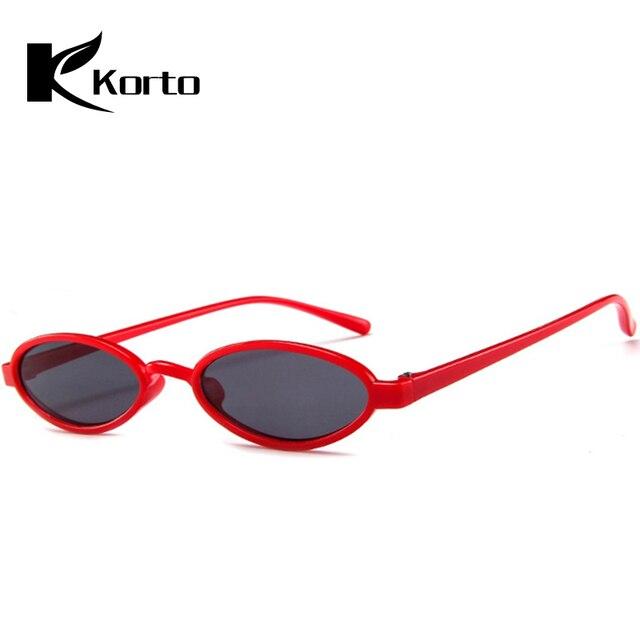 948452536c Vintage 80S Women Shades 90S Retro Small Oval Sunglasses Zonnebril Dames  70S Round Ladies Sun Glasses