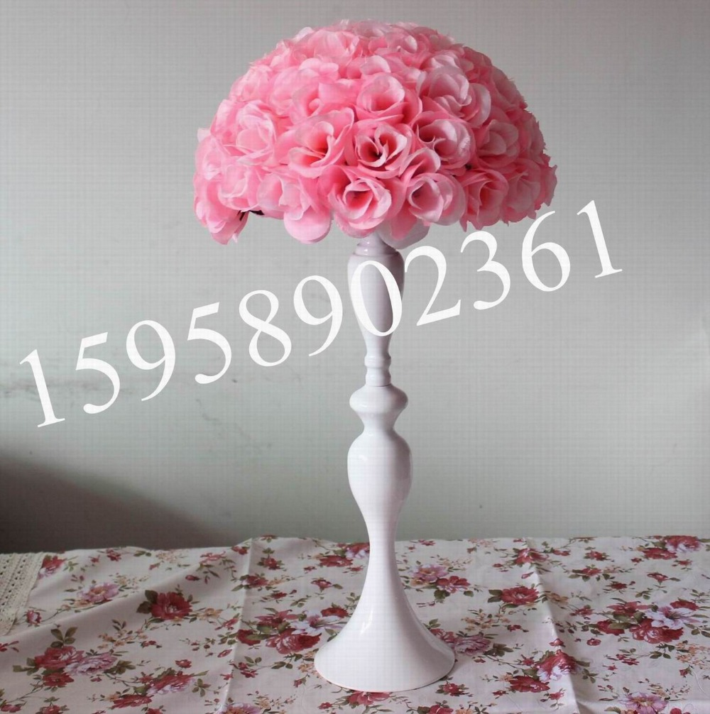 30cm Pink Free Shipping Artificial Flowers Ball Rose Kissing Ball