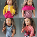 Doll Accessories Clothes, even skirt, T-shirt A variety of styles for 45cm American Girl dolls and our generation