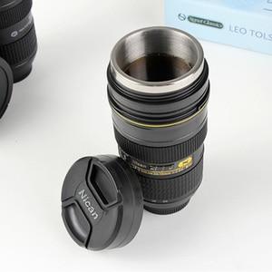 Image 2 - Tasse dobjectif dappareil photo 350 400 ML gobelet isolé dacier inoxydable de thé (modélisation Nikon AF S NIKKOR 24 70mm f/2.8G ED) tasse à café