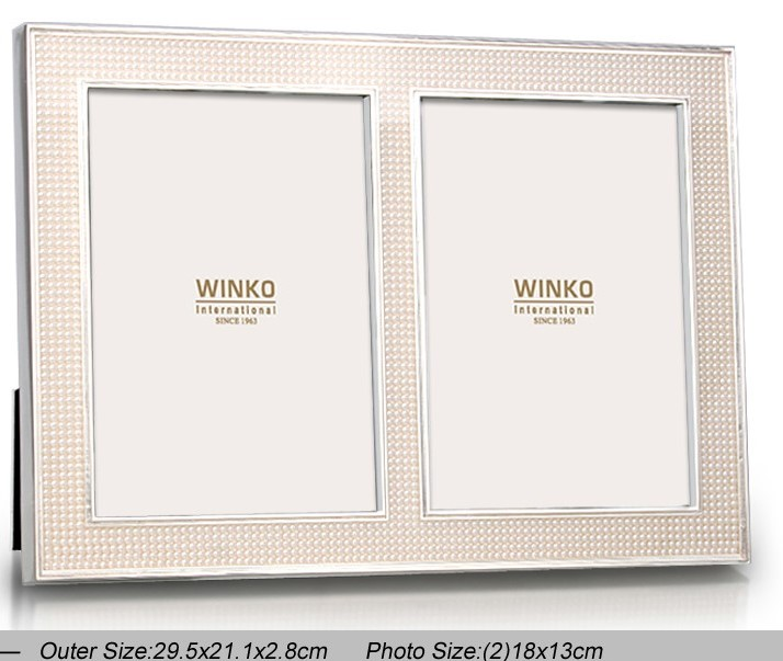 Lenox Jubilee Pearl 5x7 Frame Wall Tabletop Frames Home Kitchen
