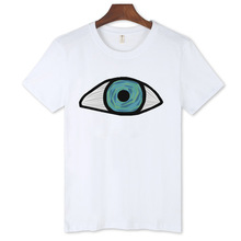 2016 Brand Clothing Anime Loose males's Shirt Funny T Shirts Off White Short Sleeve o-neck males's T-shirts Large Size