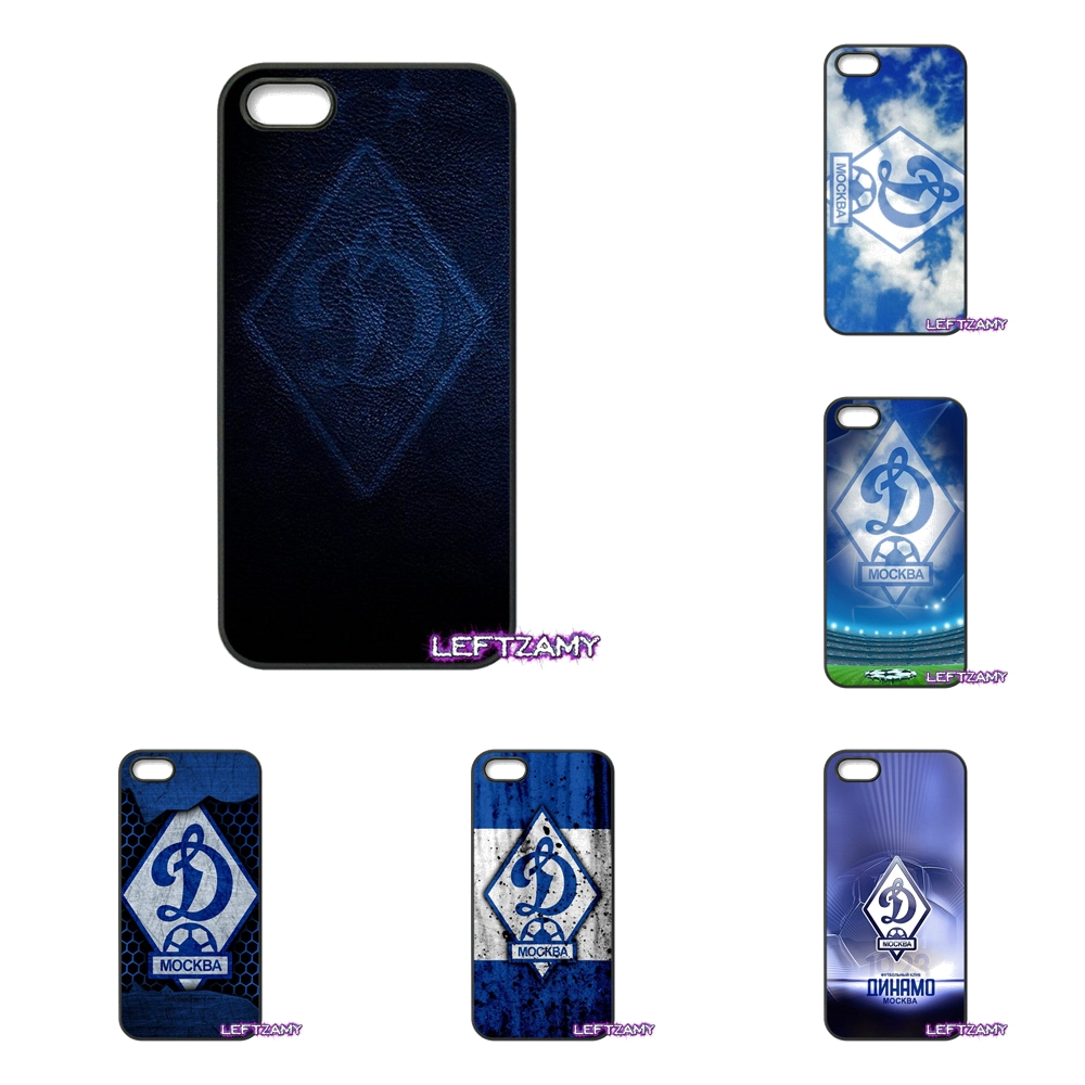 Dynamo Moscow Soccer Logo Hard Phone Case Cover For Huawei Ascend P6 P7 P8 P9 P10 Lite Plus 2017 Honor 5C 6 4X 5X Mate 8 7 9