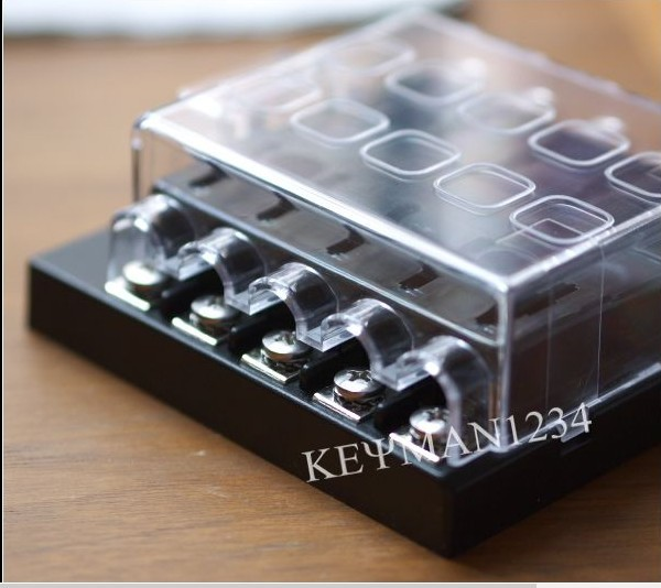 Moto Home 10 Way Blade Fuse Box Bus Bar Kit Car Boat Marine FuseBox 12V 24V boat rubber picture more detailed picture about moto home 10 way 12v fuse box marine at gsmx.co