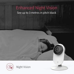 Image 4 - Yi Home Camera 1080P 2 FHD IP Security Camera Baby Monitor Wireless CCTV WIFI Night Vision International Version Camera Owl CMOS
