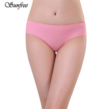 Sunfree 2016 New Hot Sale Sexy  Women Invisible Underwear Spandex Seamless Crotch Comfortable Brand New High Quality Nov 23