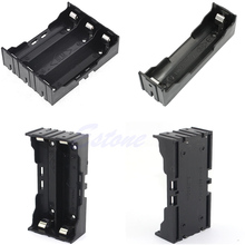1Pc Plastic Battery Case Holder Storage Box For 18650 Rechargeable Battery 1slot/ 2slots/
