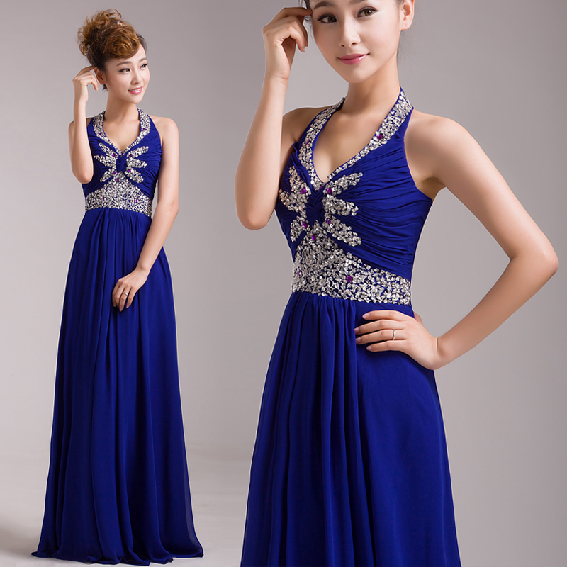 Aliexpress.com : Buy 2014 new cheap fashion champagne royal blue ...