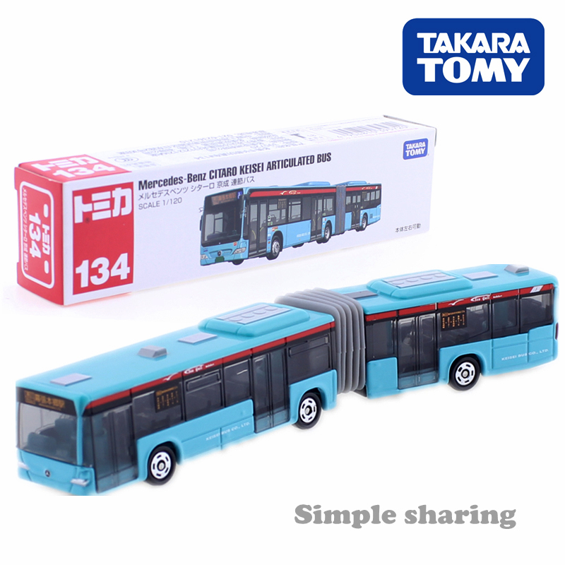 Tomica Long Type No.134 Mercedes-Benz CITARO Keisei Articulated Bus City Takara Tomy CAR Motors Vehicle Diecast Metal Model Toys