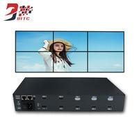 SZBITC видеостена Управление; 2x3 2x2 ЖК дисплей сращивания процессора 180 градусов вращения HDMI AV USB RS232 с удаленным Управление