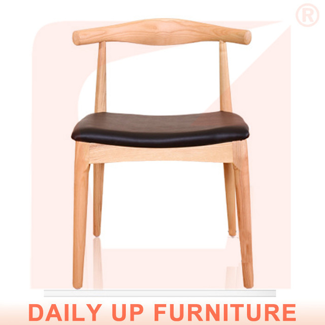 Ash Wood Cow Horn Chair Hotel Dining Chair Bedroom Furniture - Heavy duty bedroom furniture