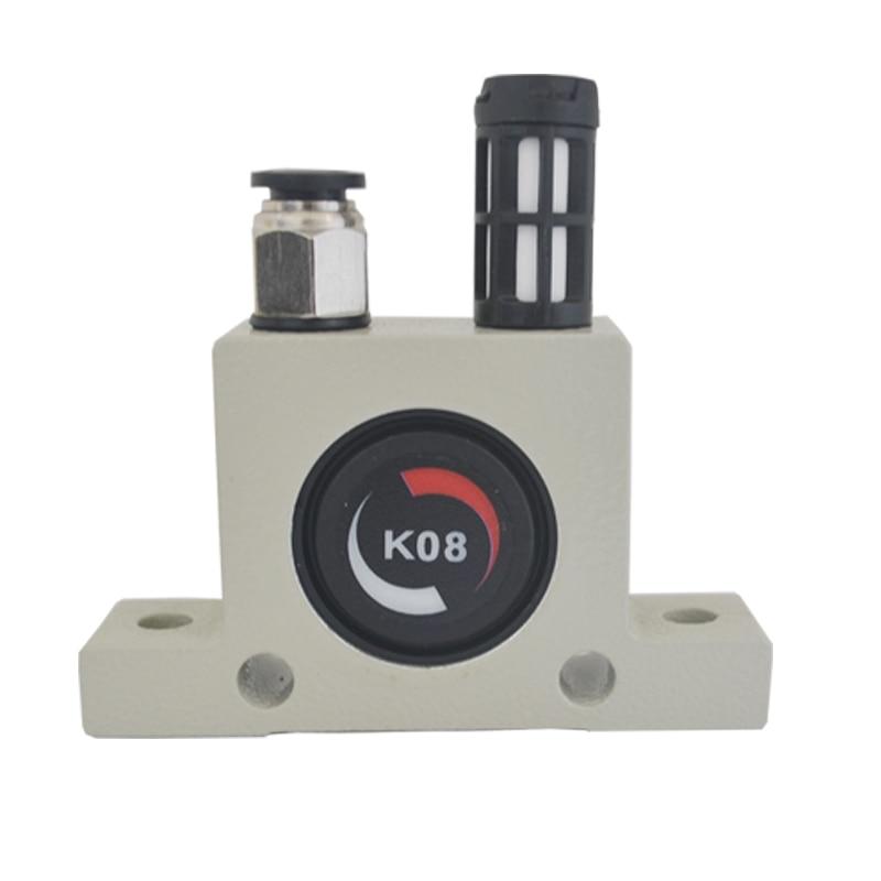 Livraison gratuite vibrateur pneumatique industriel oscillateur à billes série K K8, K10, K13, K16, K20, K25, K30, K32, K36