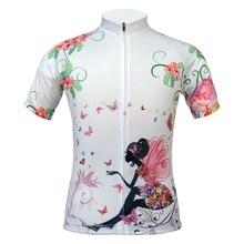 Dame Hot Selling Breathable Cycling Jersey Forår og Sommer Kortærmet Cykeltøj Cykling Shirts