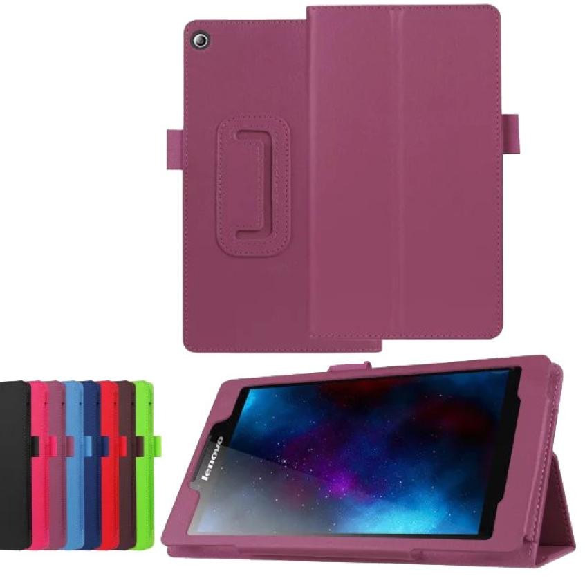 #AE PU Leather Case Stand Cover For Lenovo Tab2 a7-20F Tablet