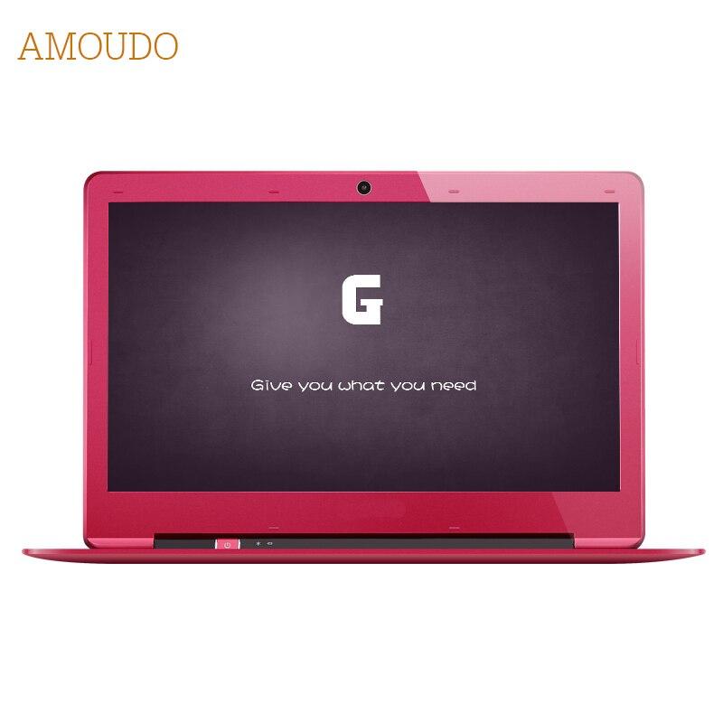 Amoudo 14 inch 8GB Ram 64GB SSD Windows 7 10 System 1920X1080P FHD Intel Pentium Quad