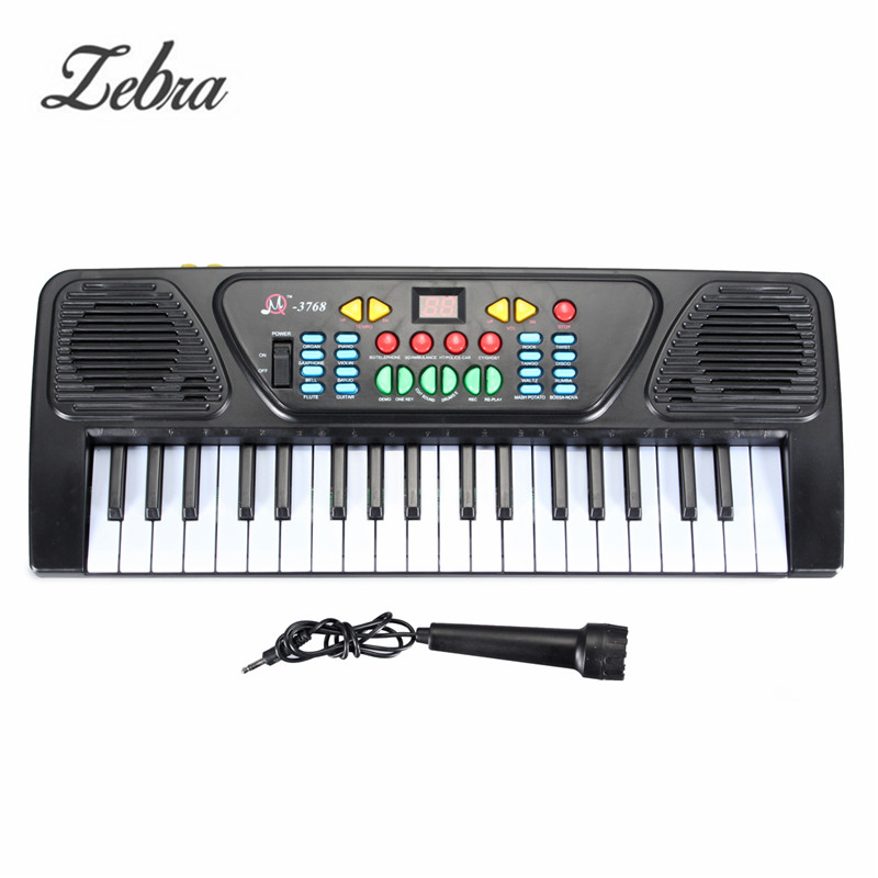 37 Keys Kid Electric Piano Organ 425 x160 x 50MM Digital Music Electronic Keyboard Musical Instrument