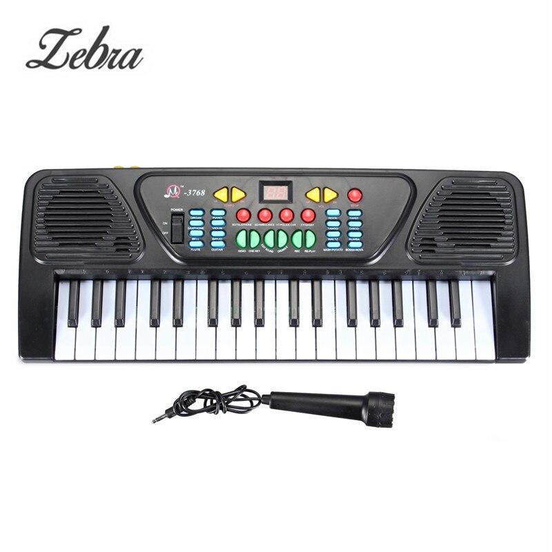 37 Touches Enfant Électrique Piano Orgue 425x160x50 MM Numérique Musique Électronique Clavier Musical Instrument Jouet Pour enfants D'apprentissage