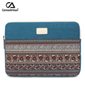 "Top quality 13.3"" laptop sleeve bag canvas notebook protective bags multifunctional retro style briefcase for 13 inch laptop"