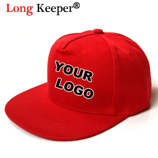 Long Keeper Custom LOGO! Hot Sale Printing Embroidery LOGO Hats For Men  Women Gool Hip 362f6d66d