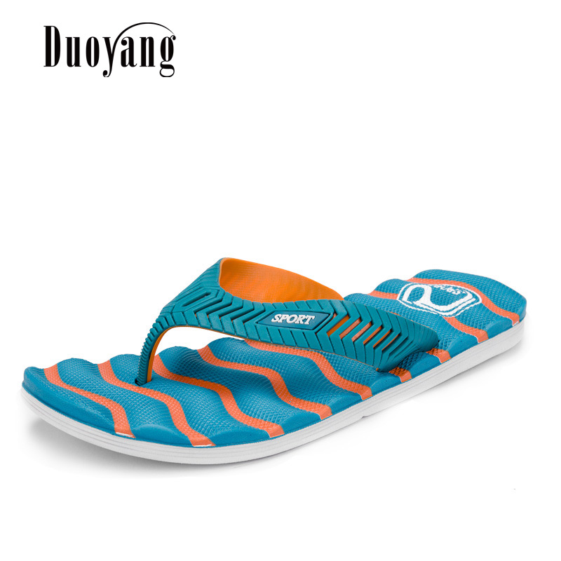 Man flip flops beach shoes 2018 New Fashion Summer Mens Casual Flat Slippers Men Beach Sandals Shoes Male Leisure summer leisure slippers slip on round toe comfortable sandals women flat sandals casual flip flops female shoes