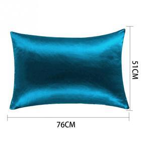 Image 5 - 1 قطعة غطاء وسادة غطاء وسادة من الحرير وسادة 51 سنتيمتر x 76 سنتيمتر 13 ألوان لاختيار ليونة كيس وسادة حريري أعلى جودة كيس وسادة