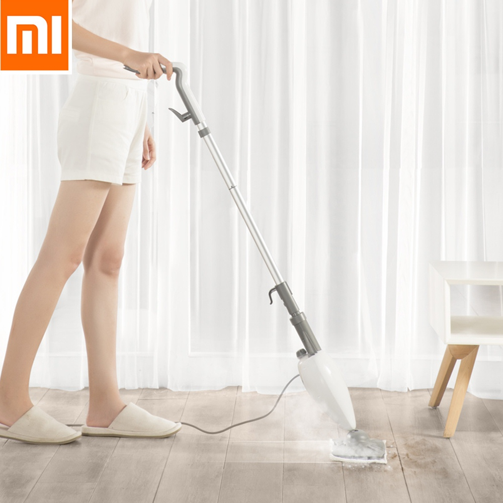 Original Xiaomi Deerma High Temperature Steam Sterilization Mop Dust Collector Mijia Floor Cleaner Home Cleaning Dust Cleaner