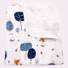 Baby Blanket Anais Muslin CottonTwo Layers Thicken Newborn Baby Swaddle Bedding Baby Swaddling Sleeping Air Conditioni Blankets