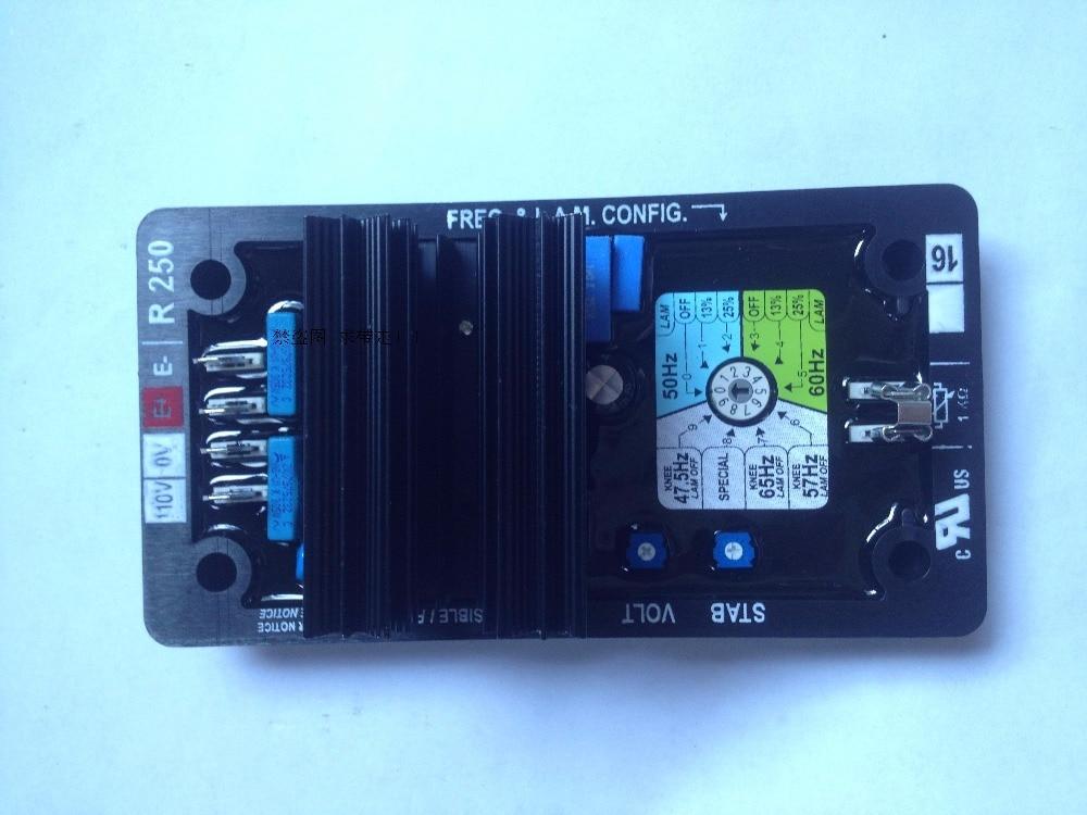 AVR R250 for generator part high quality avr r250 for leroysomer generator
