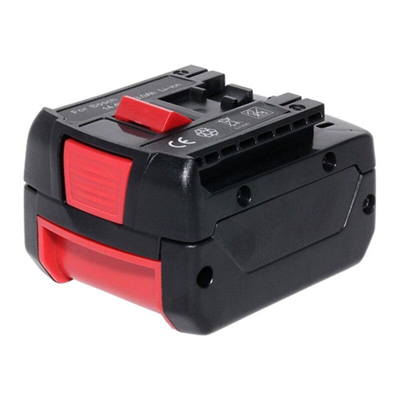 for BOSCH 14.4V 4000mAh power tool battery Li-ion BAT607 BAT607G BAT614 BAT614G 2607336078 2607336150 2607336224