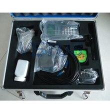 Discount! Vetus factory price TDS-100H digital handheld liquid water ultrasonic flow meter flowmeter with M2 Type Transducer