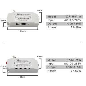 Image 5 - 220V LED sürücü sabit akım 300mA 240mA çıkış 1 50W güç kaynağı dış aydınlatma trafo LED tavan ışık