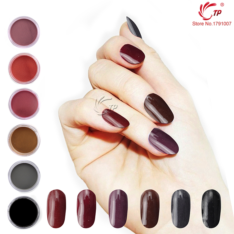 TP 28g/Box Caramel Macchiato Series Dipping Powder No Lamp Cure Nails Dip Powder Gel Nail Powder Natural Air Dry For Nail Salon tp 4pcs lot nail dip powder set glitter diping powder nails healthy color nail art powder natural dry nail salon 10g box