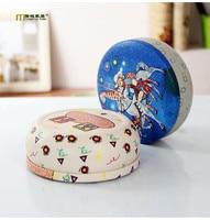 1PC 2016 Zakka Fashion Exquisite Metal Storage Box Tin Can Cookie Jar Wedding Candy Box Mix