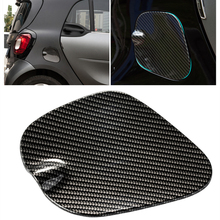 Car fuel cover ABS 3D sticker Modification accessories Fuel tank cap exterior decoration Car Styling for new smart 453 fortwo цены онлайн