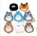 Mini Totoro Plush keychain bag Pendangt  toy soft 2016 New Kawaii my neighbor Totoro figurine  juguetes brinquedo pelucia gift