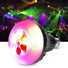 5W E27 RGB LED Multi Changing Color Bulb Stage Bar Party Festival Light AC100-240V counter h7bx aw ac100 240v