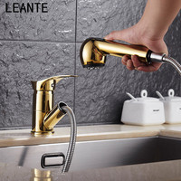 LEANTE Kitchen Faucet Soup Washing Dish Dishwashing Faucet Trenching Rotating Size Water Cooled Hot Water Faucet