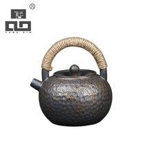 TANGPIN big capacity ceramic teapot handmade tea pot chinese kung fu 420ml