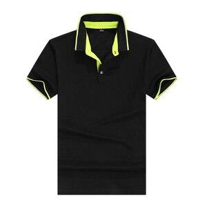 تنفس العلامة التجارية جديد 2018 وصل قمصان بولو قصيرة الأكمام الرجال الكلاسيكية تصميم بلون S-3XL