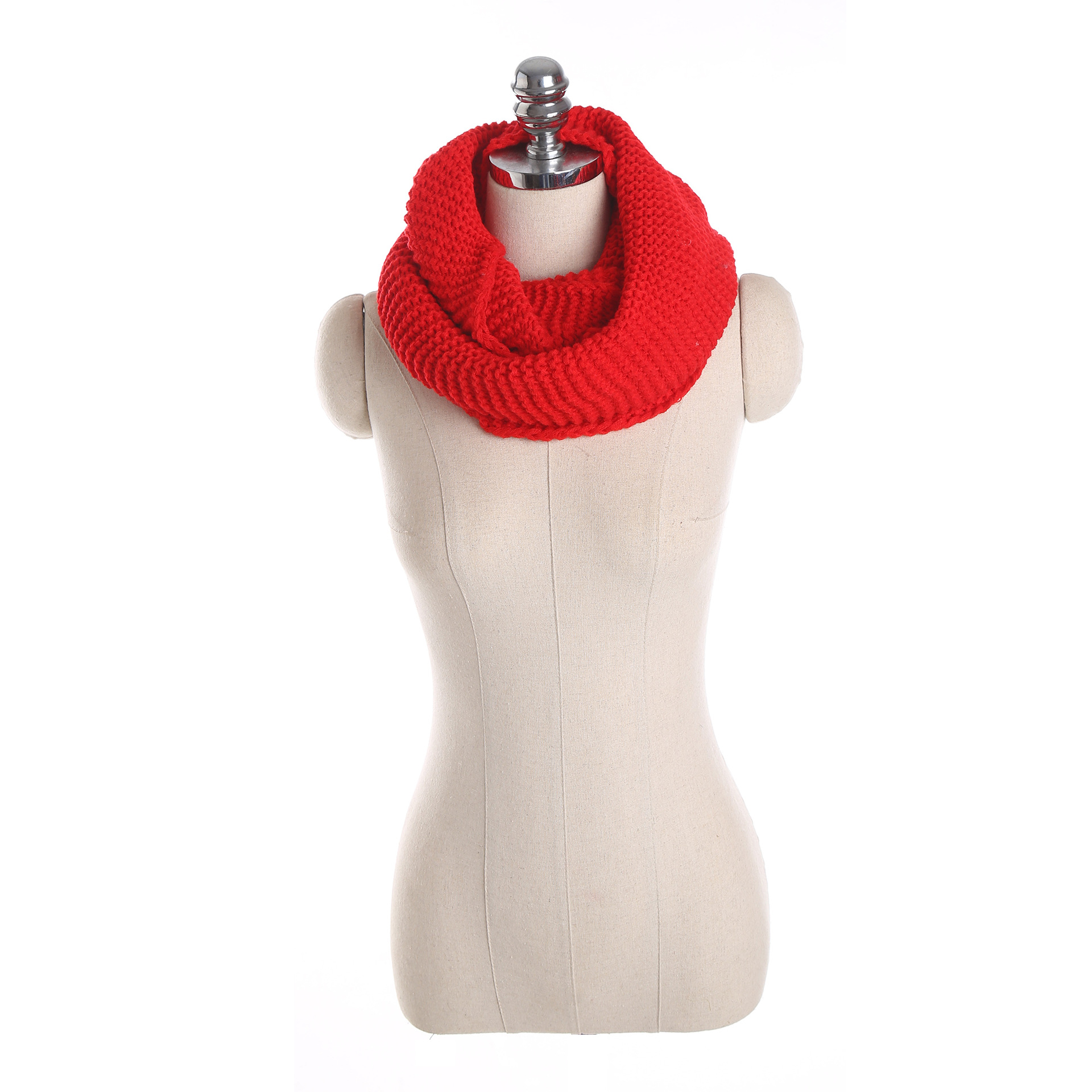 in scarves woman s solid ring winter rings autumn from wave head knitting soft scarf knitted spring neck warm hand item women duftgold yarn female clothing