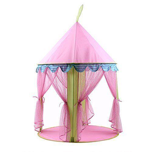 Dalosdream Kinder Kinder Spielen Zelt Blau Prinzessin Nette Schloss