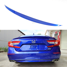 New Design 2018 streamline sport spoilers for honda accord high quality ABS material rear trunk spoiler by primer or DIY paint new design for toyota camry 2018 high quality and hardness abs material spoiler by primer or diy color paint camry spoilers