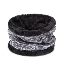 Winter Hat&Scarf Set For Men Winter Beanies Scarves Thick Cotton