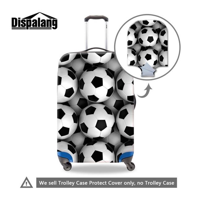 Bola Elástica Impressa poliéster Protetores para duffle bagagem de viagem mala bagagem capa protetora À Prova D' Água 18-30 polegada