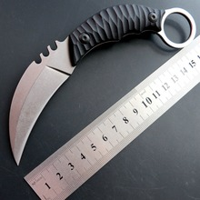 Eafengrow C1690 CS GO steel claw knives Counter Strike Tactical Survival Knife Karambit Camping Hunting Fixed Blade