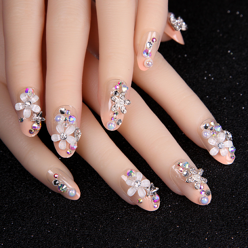 Nail Art Rhinestones And Beads Acrylic Strass Decoration 3d Games Designs Diamond Nails Jewelry Accessoires Supplies Cz 01 In Decorations