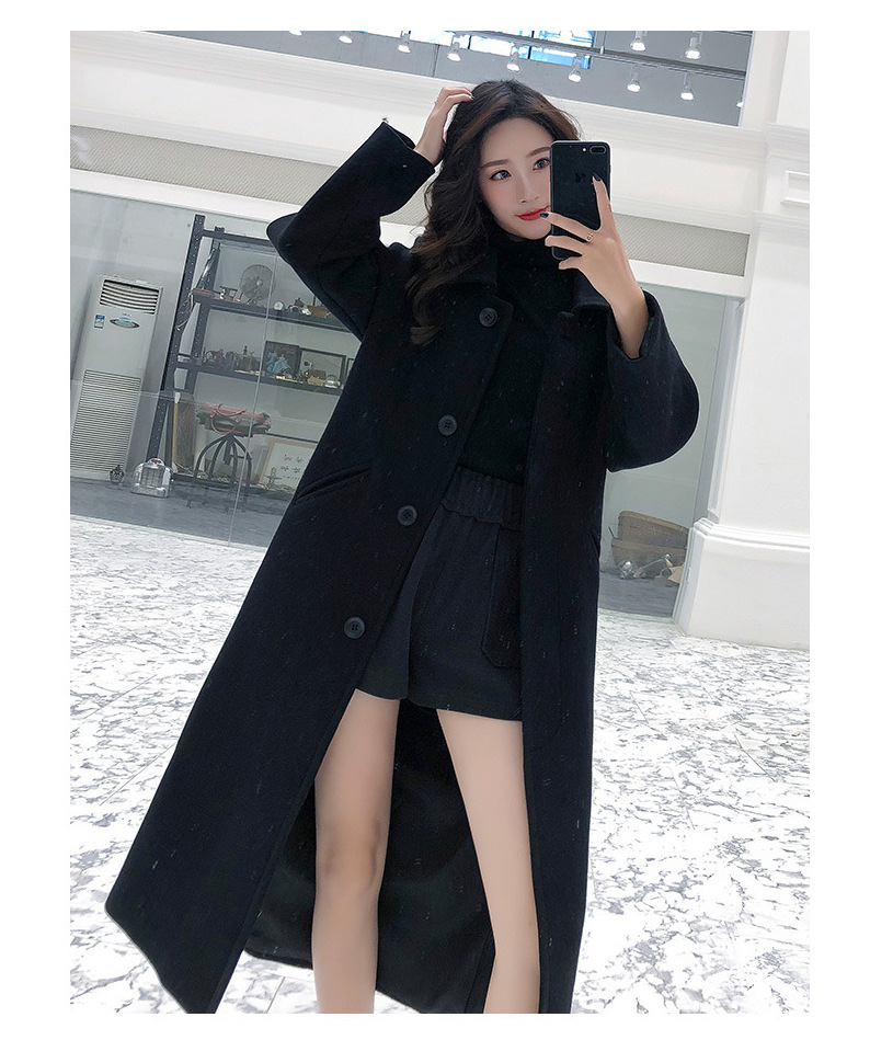 Fashion Winter Trench Coat For Women Long Coat Women Plus Size lingerie manteau femme hiver abrigos mujer invierno 18 8